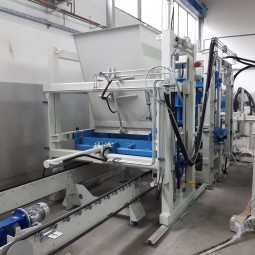 Block machine of the new generation SUMAB R-500