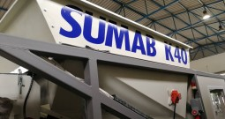 Concrete production/Sumab K40 Mobile concrete batching plant