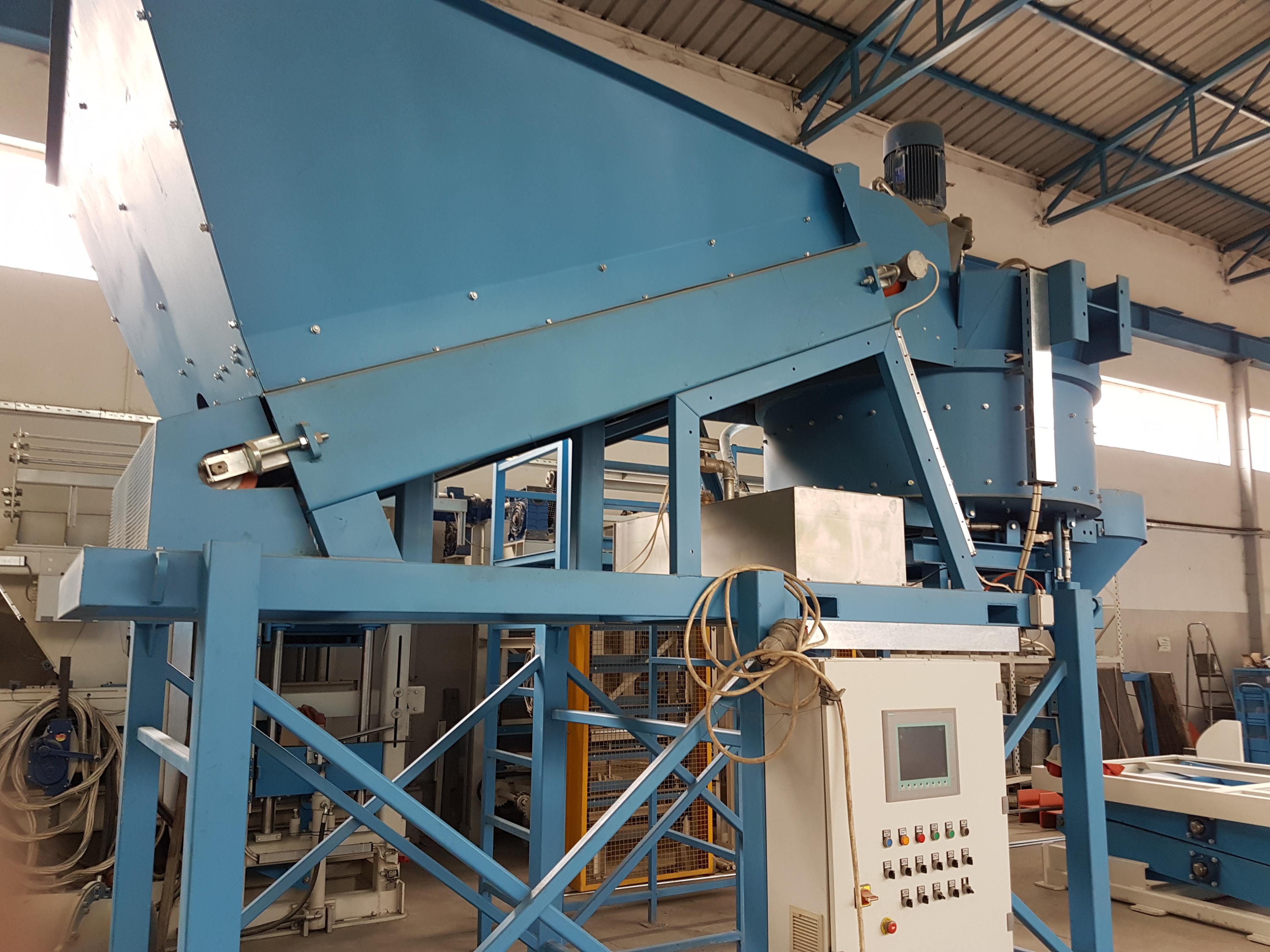 Mini Cement Plant : Special project mini concrete plant designed on long legs